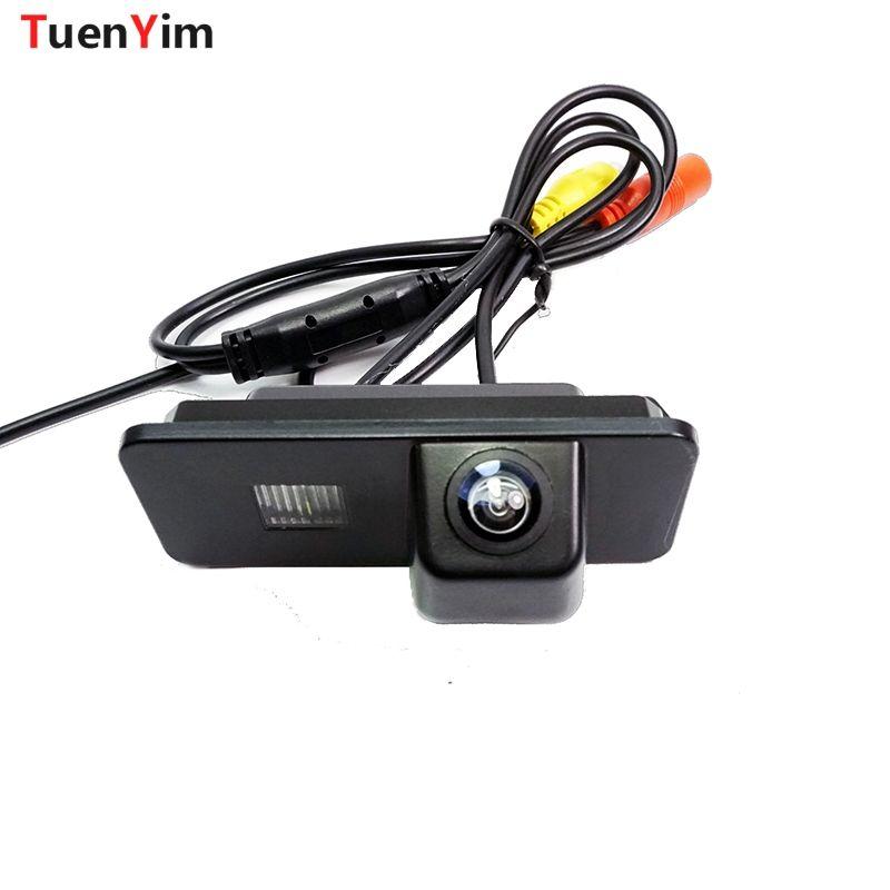 Caméra de stationnement de vue arrière de voiture pour Volkswagen passat PHAETON/SCIROCCO/GOLF 4 5 6 MK4 MK5 MK6/EOS/POLO/BEETLE/LUPO/LEON/Altea