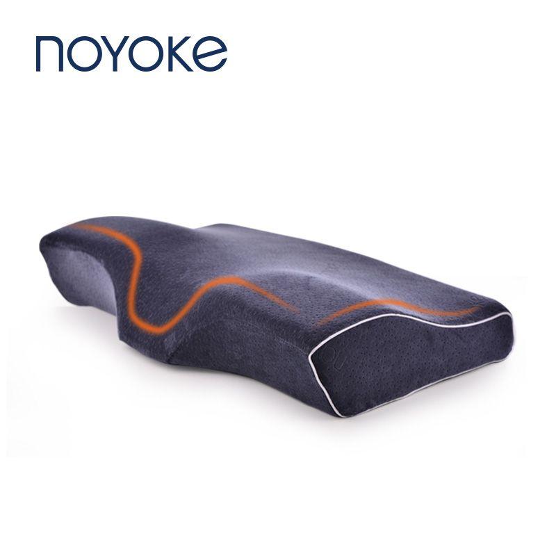 Oreiller en mousse à mémoire de forme oreiller orthopédique à rebond lent oreiller Cervical protège les oreillers d'extension de cils pour dormir