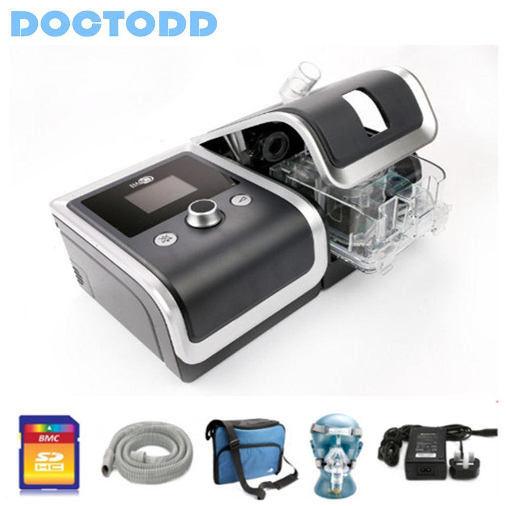 Doctodd GII CPAP Gesundheit Pflege Protable CPAP Maschine Für Anti Schnarchen COPD CPAP Ventilator Mit 4G Speicher Karte CPAP w/Freies Teile