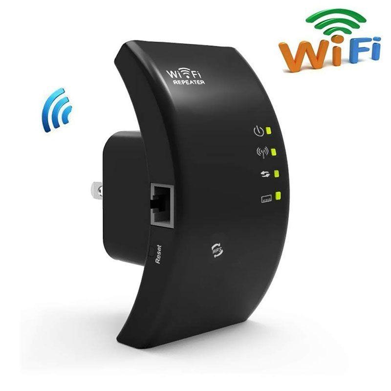Répéteur WiFi sans fil 2.4G 300Mbps amplificateur WiFi Extender 802.11N/B/G WiFi Booster amplificateur de Signal Wi-Fi Point d'accès Wi-Fi