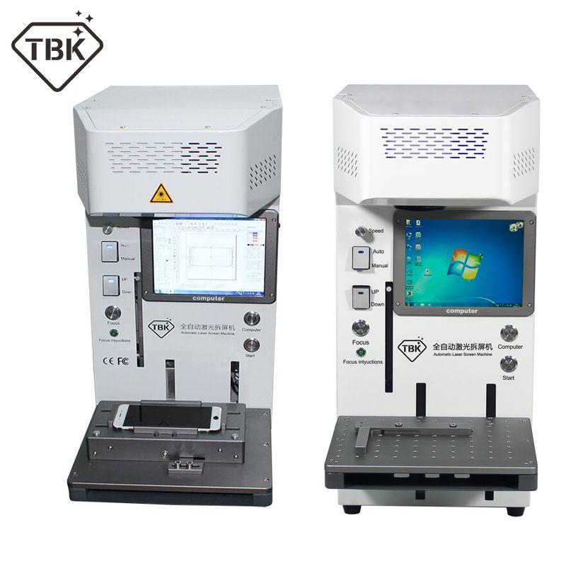 TBK 20W Laser Schneiden Maschine für iPhone 11 XS X Zurück Glas Remover LCD Rahmen Reparatur Universal handy positionierung leuchte