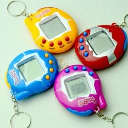 1PCS New Hot Tamagochi Electronic Pets Toy Virtual Pet Retro Cyber Funny  Tumbler Ver Toys for Children Handheld Game Machine