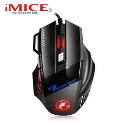 Wired Gaming Mouse USB Computer Mouse Gamer X7 Ergonomic Mouse Gaming Silent Mause Gamer Cable Mice 7 Buttons For PC Game LOL CS