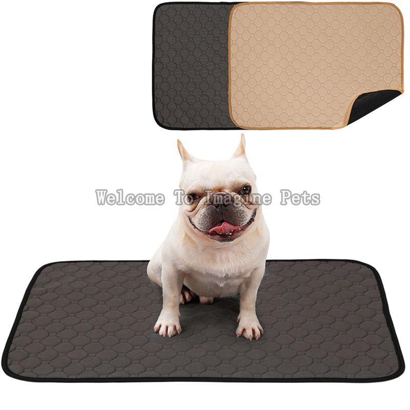 Couches réutilisables pour chien tapis absorbant l'urine couche absorbante lit de couchage pour petit chien chiot Pad de formation