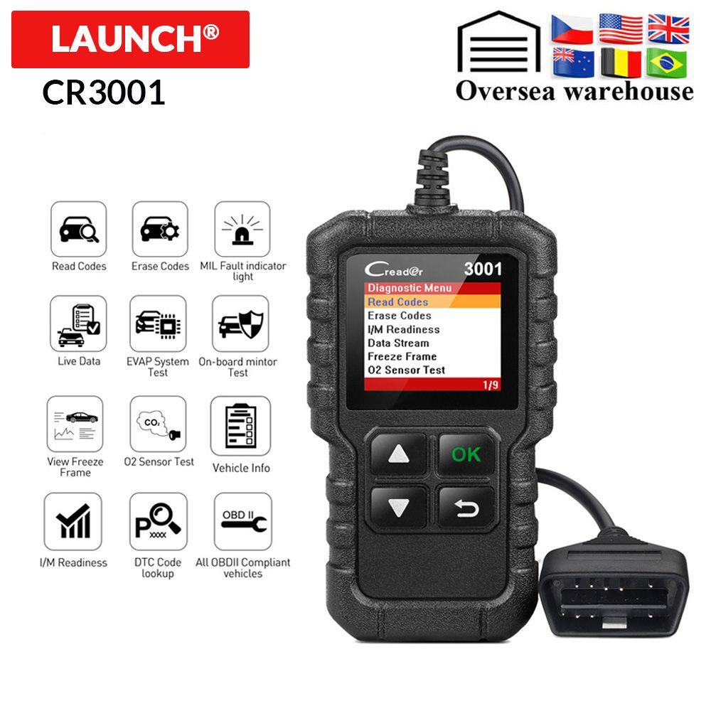 STARTEN X431 CR3001 OBD2 Auto Scanner Diagnose Werkzeug in Russische Creader 3001 Code Reader PK ELM327 V1.5 AD310 CR 319 CR319