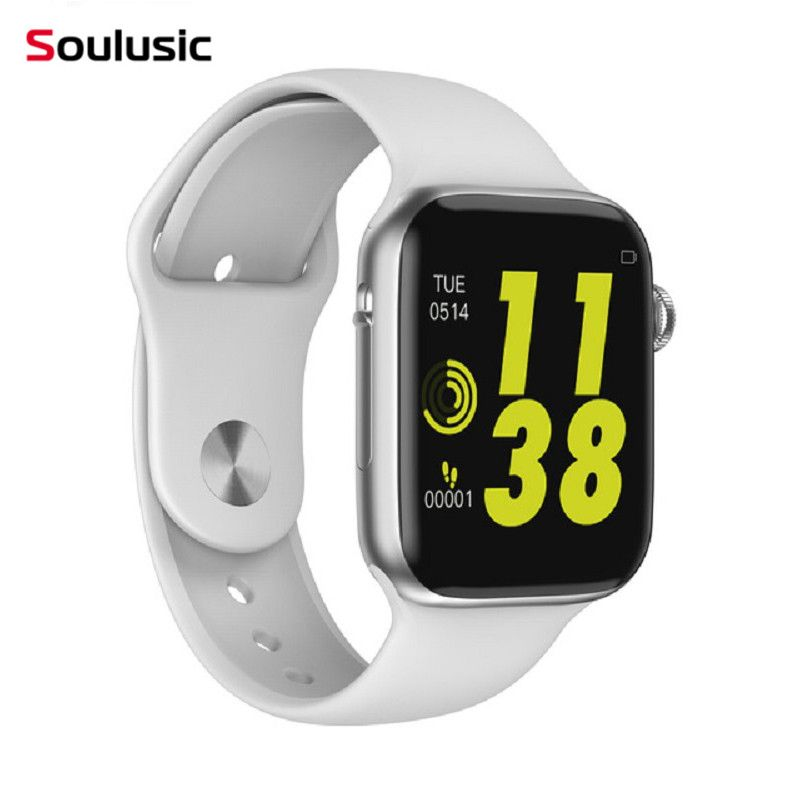Soulusic W34 Bluetooth appel montre intelligente ECG moniteur de fréquence cardiaque iwo 8 lite Smartwatch pour Android iPhone xiaomi bande PK iwo 8 10