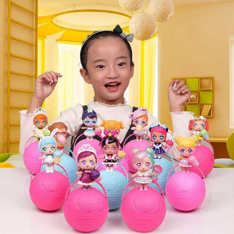Eaki toutes les séries véritable bricolage enfants jouet pour lol poupées avec boîte d'origine Puzzle jouets boîte aveugle pour enfants cadeaux d'anniversaire
