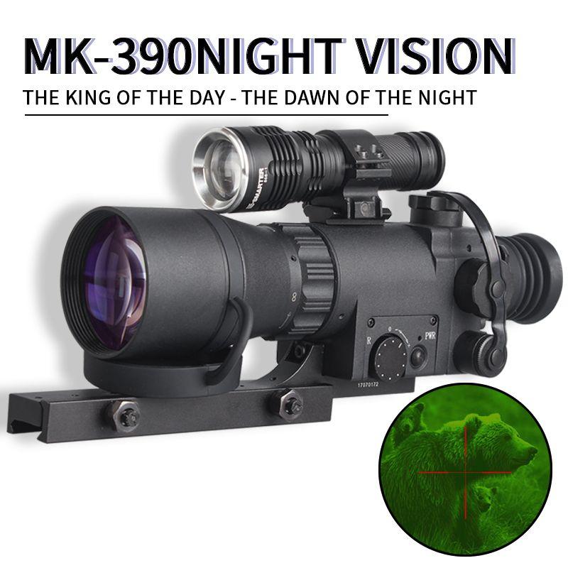 MK-390 FMC Volle HD Objektiv Palette Thermische imager Jagd Wildlife Überwachung Scouting Sight jagd scopes nachtsicht zielfernrohr