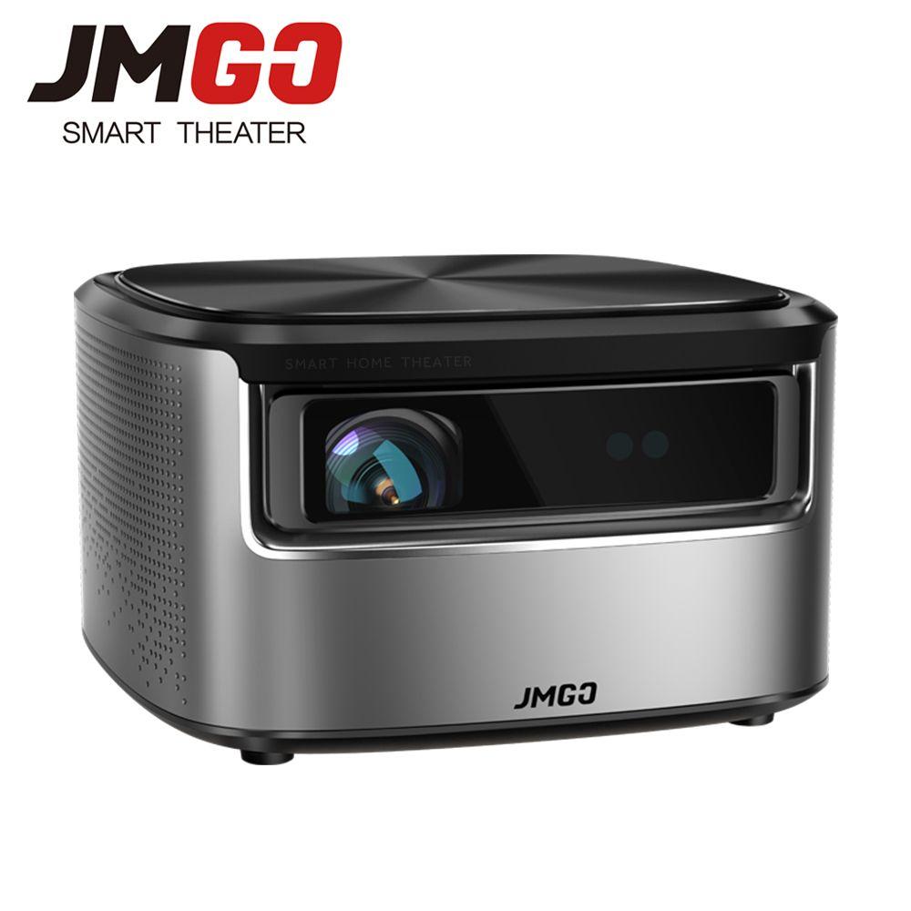 JMGO N7 Full HD Projektor, 1300 ANSI Lumen, 1920*1080 P. Smart Beamer Home Cinema. Unterstützung 4 K, 3D Projektor
