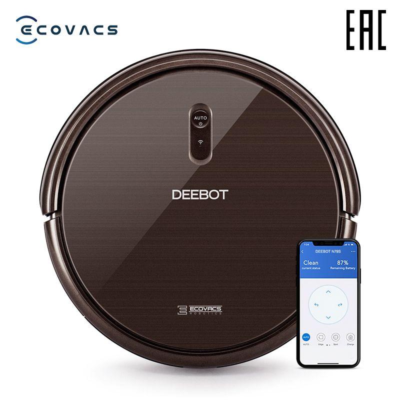 ECOVACS Deebot N79S roboter staubsauger mit maximale saug power mit wifi unterstützung und steuerung von smartphone