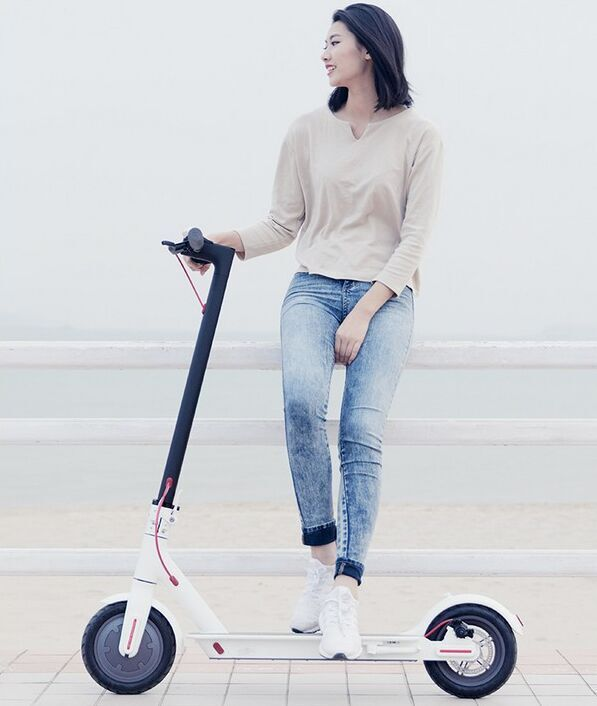 (EU LAGER) 2019 Xiao mi mi Elektrische Roller mi jia M365 Pro Smart E kick roller mi ni Faltbare Hoverboard Longboard Erwachsene 45km