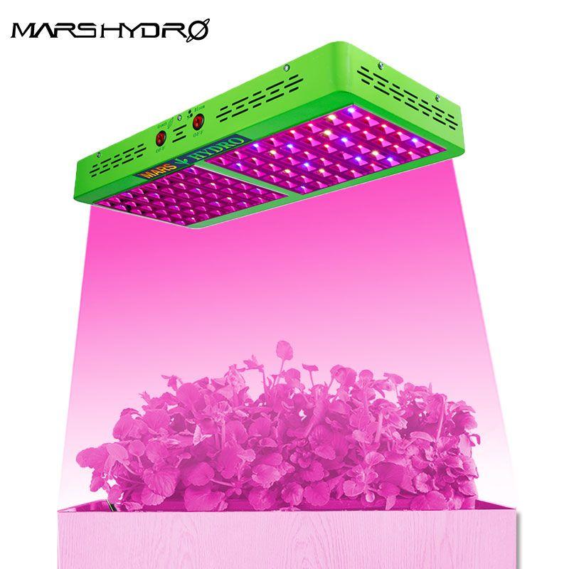 Mars hydro réflecteur 600W led grandir lumière intérieur plein spectre hydroponique système de serre intérieur jardin plante croissance lumière