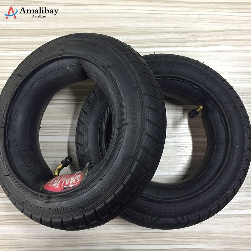10 pouces mis à jour pneu pour Xiaomi M365 Scooter nouvelle Version pneu gonflage roue Tubes pneus extérieurs pour Xiaomi Scooter électrique