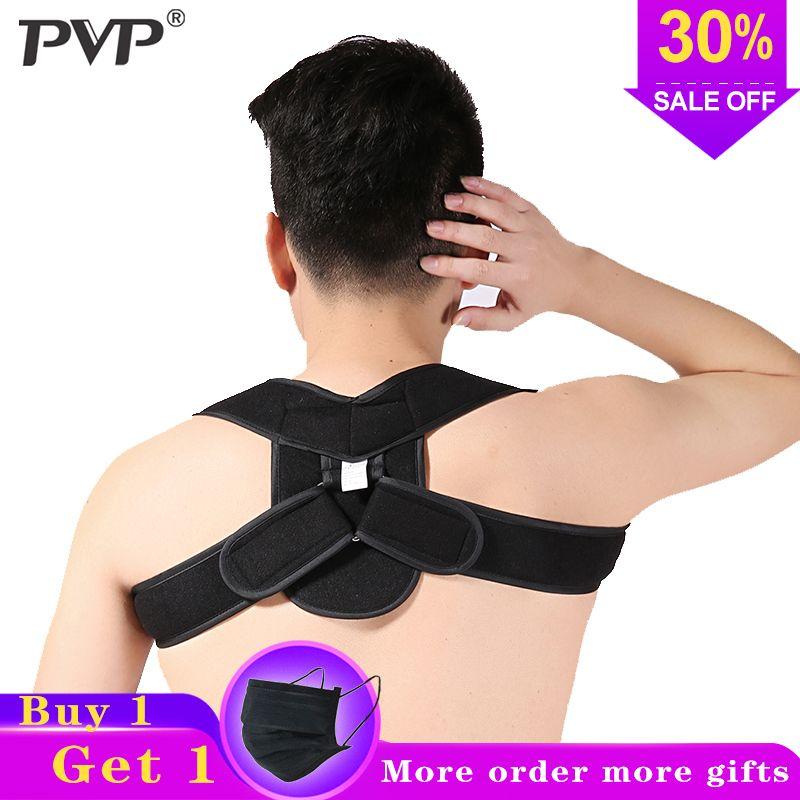 Adjustable Upper Back Shoulder Support Posture Corrector Adult Children Corset Spine Brace Back Belt Orthotics Back Support
