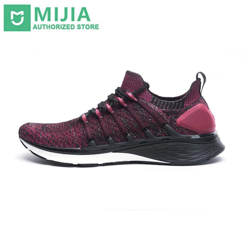 Xiao mi mi jia chaussures 3 hommes en cours d'exécution sport Sneaker Composite mi dsole PU Stable couche de soutien épaisse éponge semelle intérieure confortable