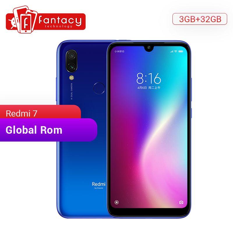 Global Rom Xiaomi Redmi 7 3GB 32GB Snapdragon 632 Octa Core 12MP Dual Camera 6.26