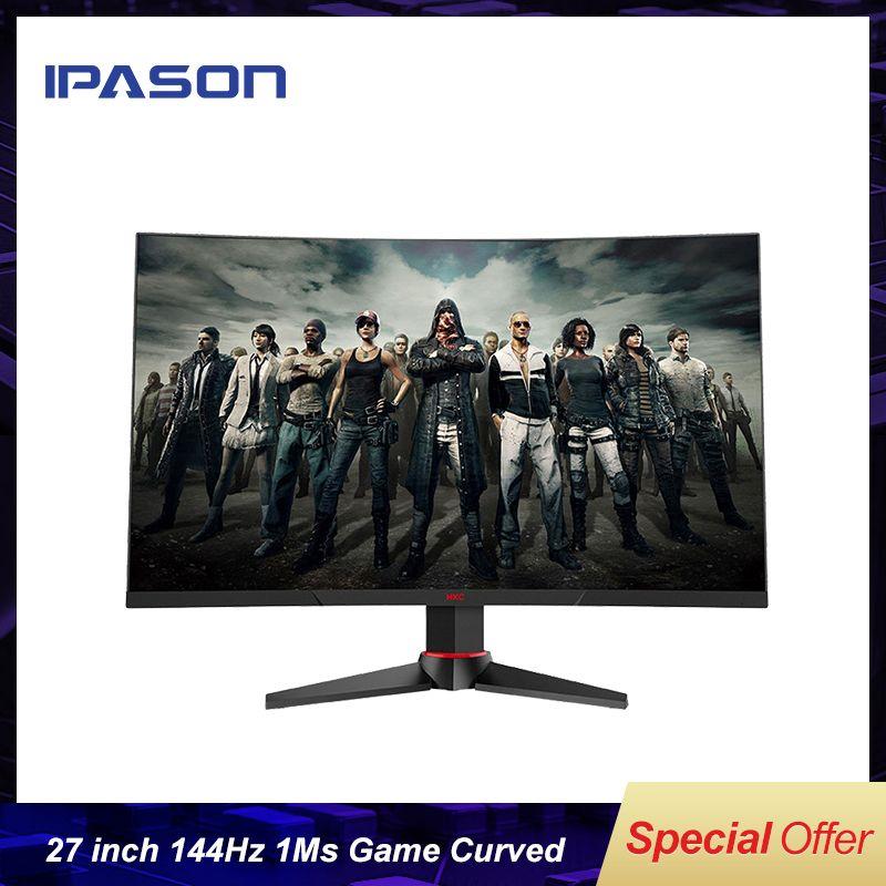 G271F 27-zoll Gebogene e-sport Gaming monitor computer 144Hz/1ms drehbare hebe 1MS antwort