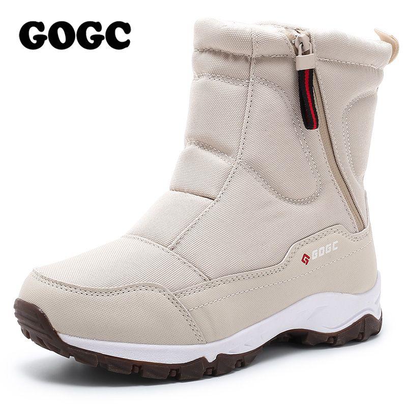 GOGC femme bottes femmes bottes d'hiver chaussures femme bottes de neige bottes femmes bottes d'hiver pour femmes chaussures d'hiver bottines G9906