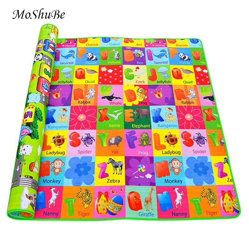 Tapis de jeu pour bébé tapis de développement pour enfants tapis de gymnastique en mousse Eva jeux de puzzle jouets pour tapis pour enfants sol souple