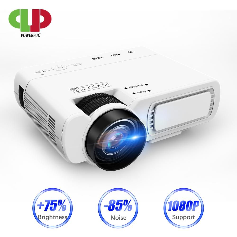 POWERFUL T5 mini Projector Full-HD 1080P projector WIFI connect Phone 1280x800P Resolution Beamer 4K Proyector Home Theater