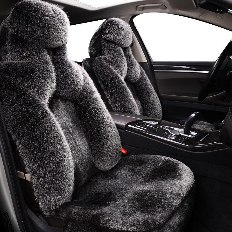 Hohe Qualität Lange Wolle Faux Far Auto Sitzbezüge Universal für LEXUS GS300 RX450h IS250 LS LX ES rx300 CT200H rx 460 rx200
