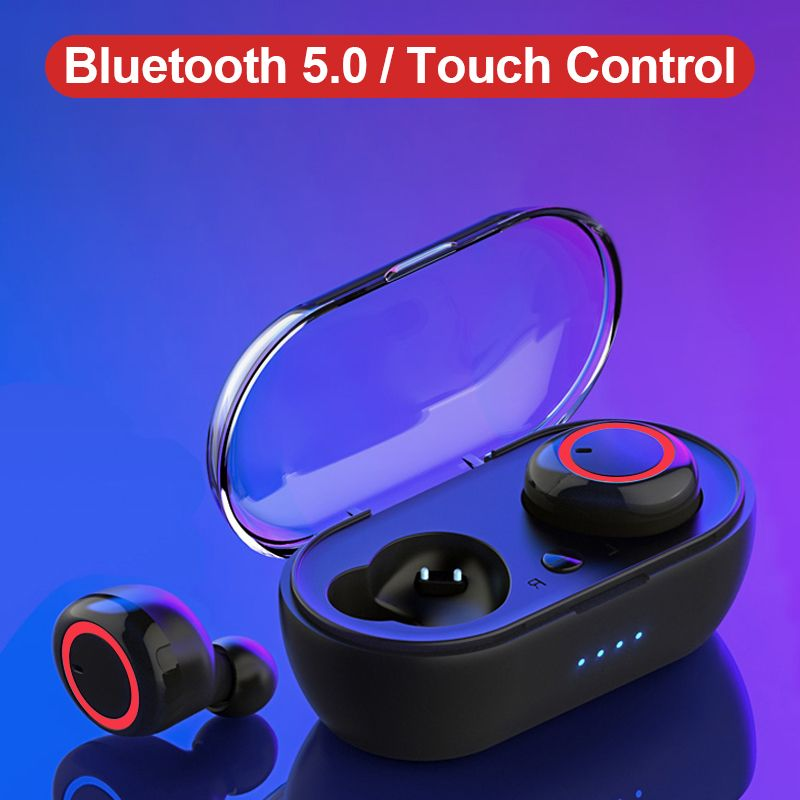 WK V5.0 TWS Bluetooth Earphones 3D Stereo Wireless Headsets Earbuds with Charging Box Fone De Ouvido Bluetooth Dual Microphone