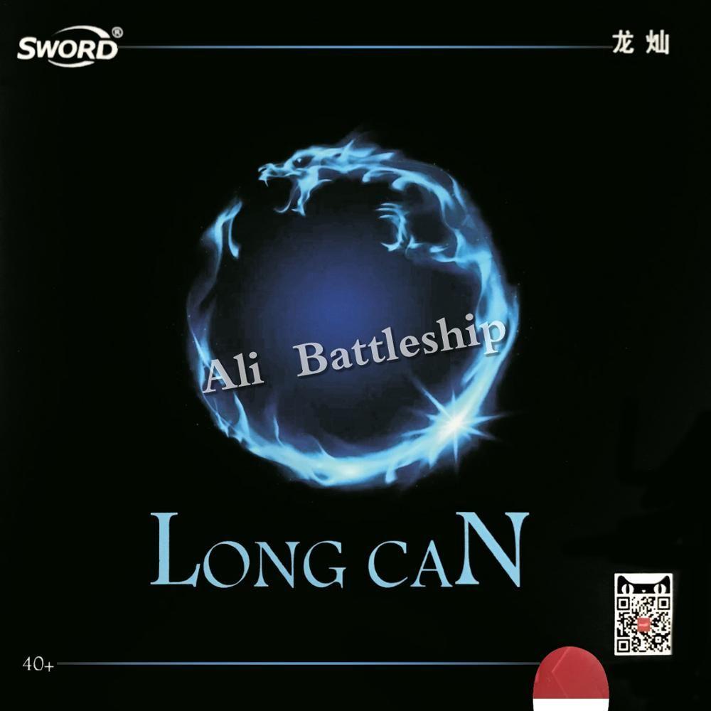 Épée longue boîte 40 + court Pips-ping-pong ping-pong caoutchouc