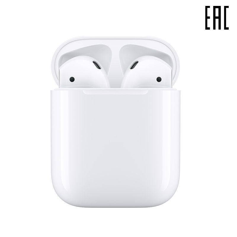 Kopfhörer Apple AirPods 2 ohne wireless charging fall [offizielle garantie]