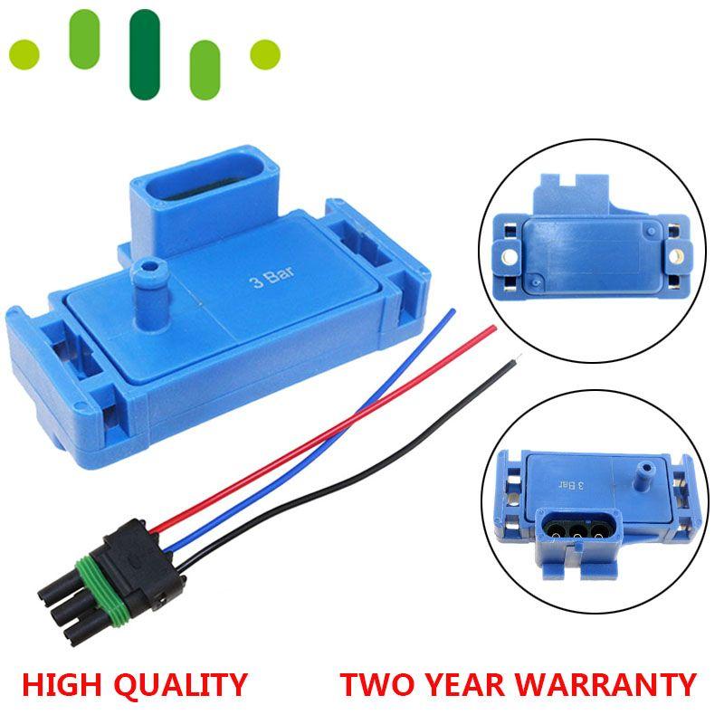 Promotion-nouveau pour GM STYLE 3BAR 3 BAR carte capteur pour électromoteur Motec Megasquirt avec prise 12223861 16040749