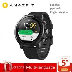 Global Version Original Huami Amazfit Stratos 2 Smart Watch Sport GPS 5ATM Water 2.5D GPS Firstbeat Swimming Smartwatch