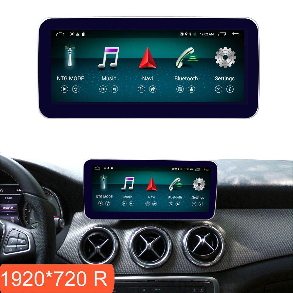 10,25 zoll 4 + 64G Android Display für Mercedes Benz EINE Klasse W176 Auto Radio Bildschirm GPS Navigation Bluetooth kopf BIS Touchscreen