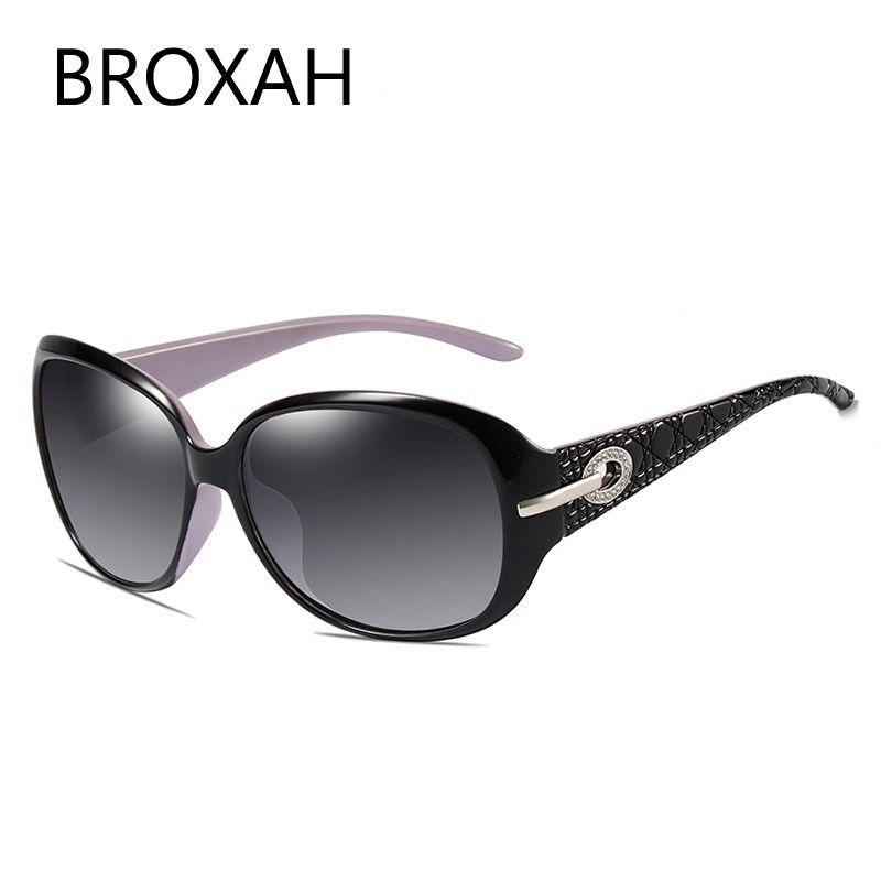 Mode luxe marque Dames lunettes de soleil polarisées 2019 Top qualité conduite lunettes de soleil pour lunettes pour femme UV400 Zonnebril Dames
