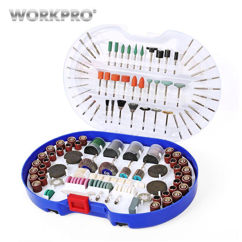 WORKPRO 276PC outil rotatif accessoires pour Dremel Mini foret ensemble outils abrasifs meulage ponçage polissage outils de coupe