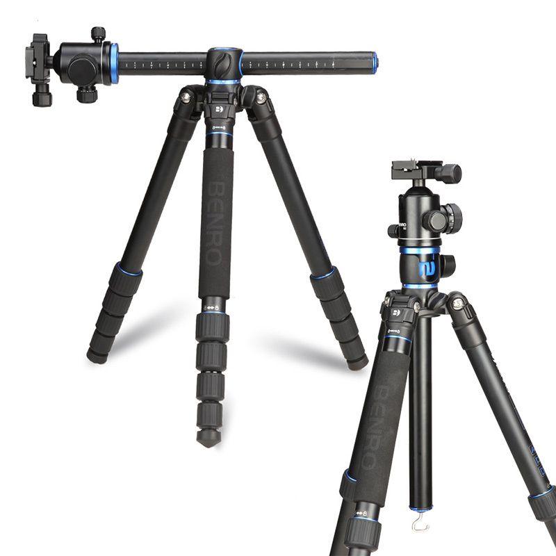 Benro GA268TB2 Aluminium Stativ Kit Professionelle Kamera Stativ Ball Kopf Quer Center Spalte Stabile Halterung Mobilen Stativ