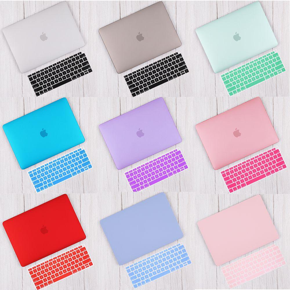 Redlai mat & cristal coque rigide avec housse de clavier pour 2019 Macbook Pro 13 TouchBar A2159 2018 Air 13 A1932 Retina 11 15