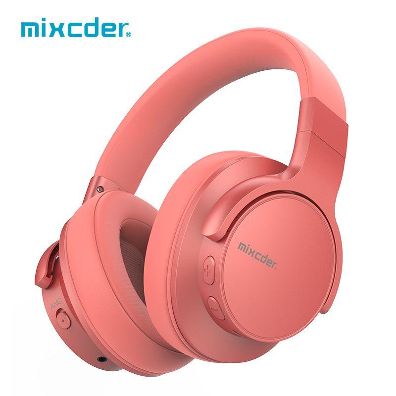 Mixcder E7 casque sans fil actif suppression du bruit Bluetooth casque V5.0 charge rapide ANC casque pour téléphone
