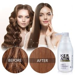 11.11 Keratin Brazilian Hair Treatment Formalin 5% Keratin Cheveux Straighte Curly Hair Repair Damaged Shiny Hair Shampoo 300ml