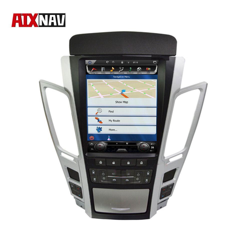 Vertikale Bildschirm Auto Multimedia Player Steuergerät Tourist Navigator für Cadillac CTS DVD 2 Din Radio Audio Fahrzeug GPS Autoradio