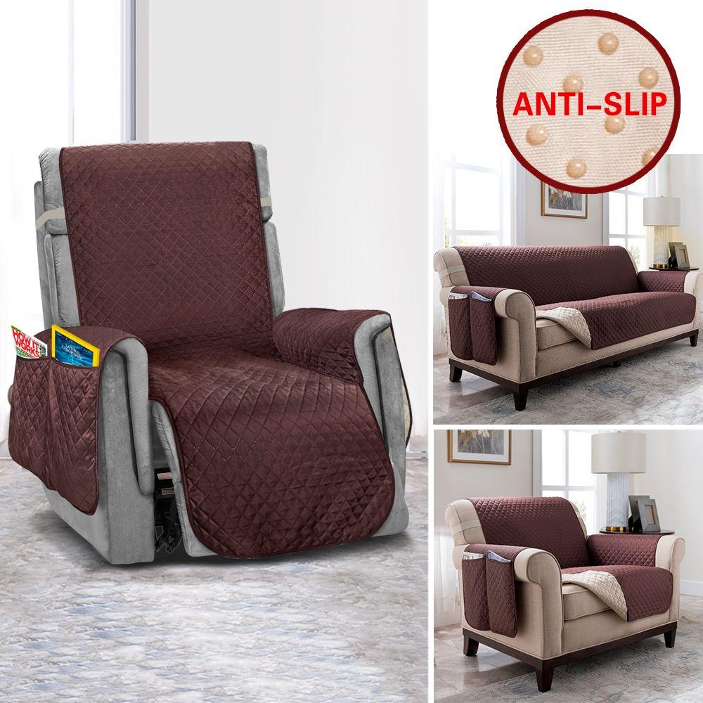 Housse de canapé inclinable anti-dérapant housses de canapé pour salon accoudoir housses de protection de meubles chaise canapé housse de canapé élastique