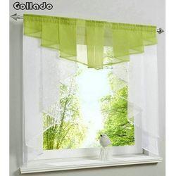 Модный плиссированный дизайн сшивание цвета Тюль балкон кухонная оконная занавеска один комплект
