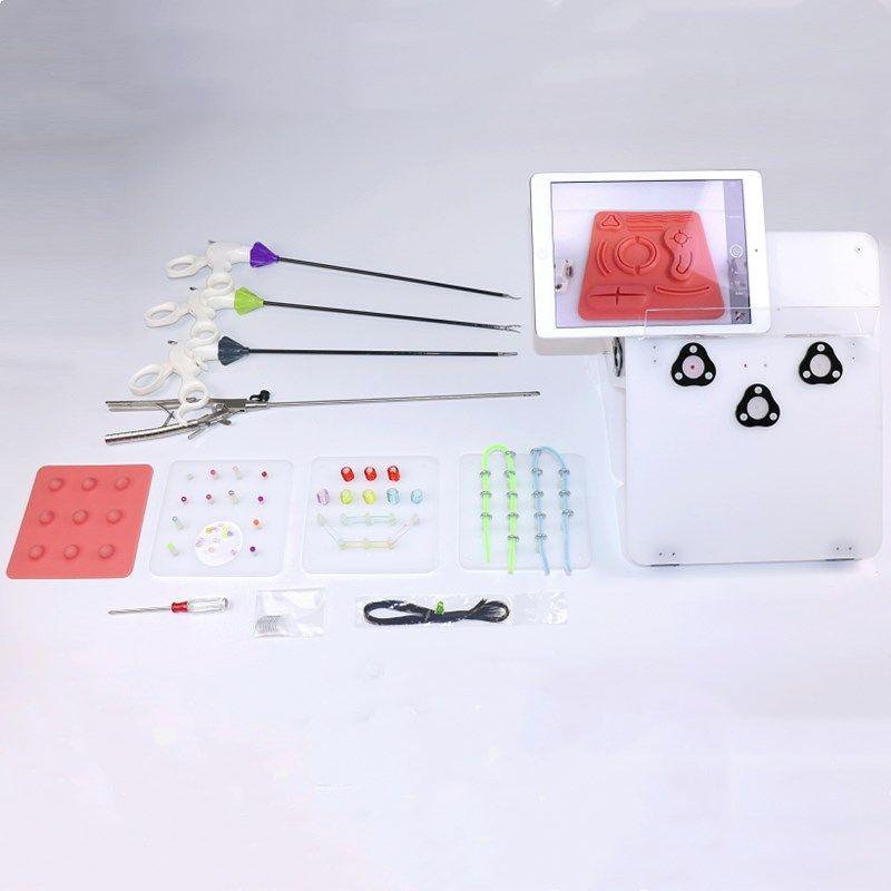 Laparoskopische simulator training box Laparoskopische Chirurgische instrumente trennung zange/clip/schere lehre ausrüstung