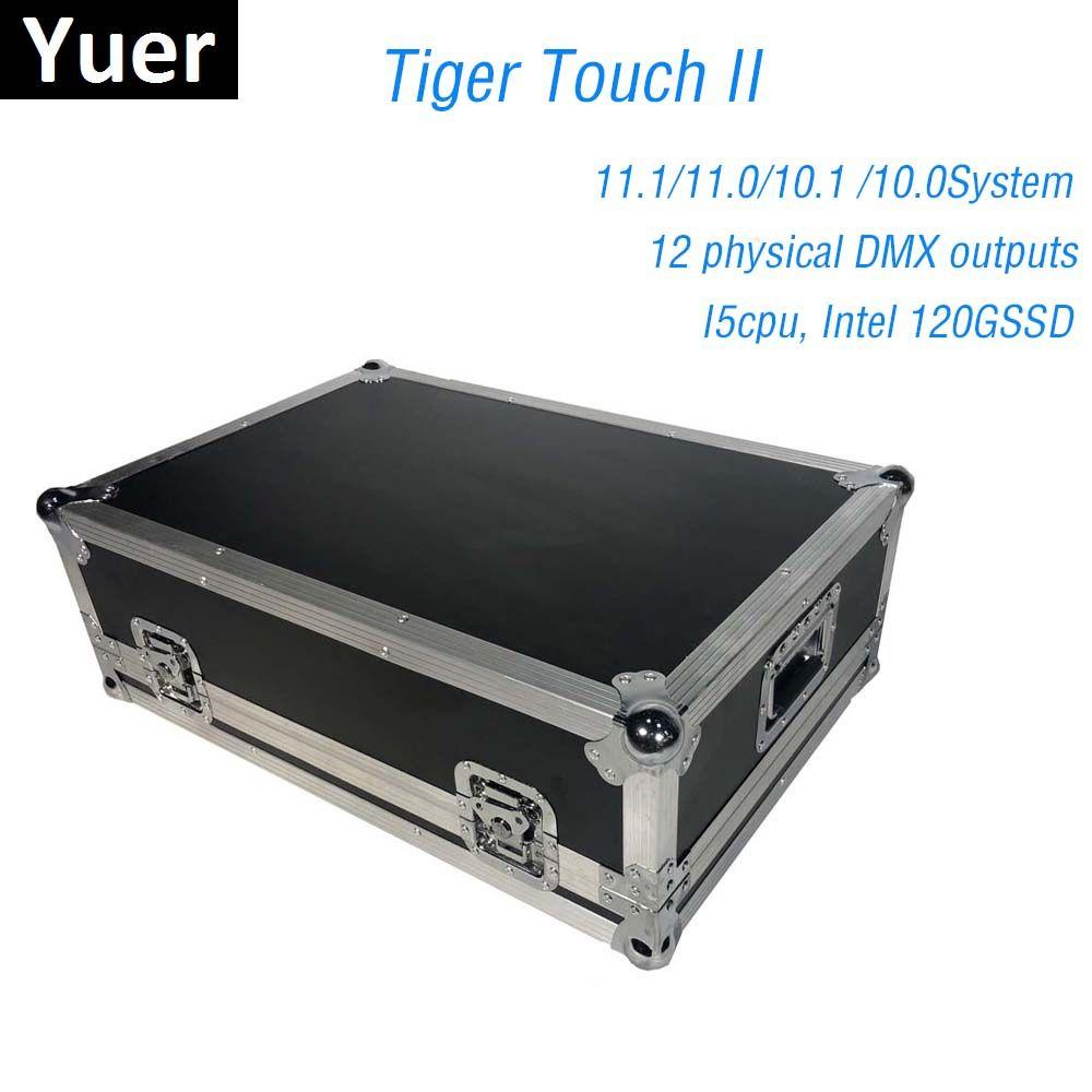 Titan Betriebs System Tiger Touch Controller Bühnen Beleuchtung Konsole Control LED Par Lichter Moving Head Lichter 6144 DMX Kanäle