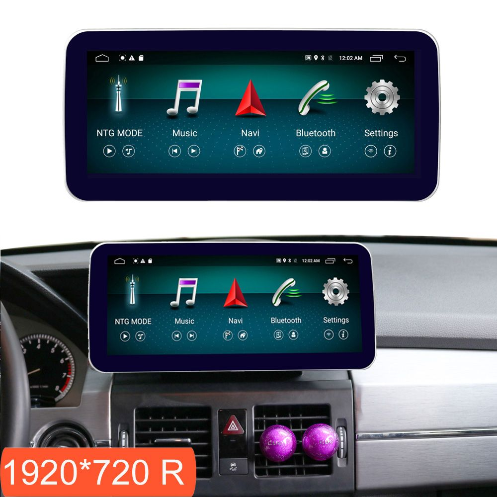 10,25 zoll 4 + 64G Android Display für Mercedes Benz GLK X204 2008-2012 Auto Radio Bildschirm GPS navigation Bluetooth Touchscreen