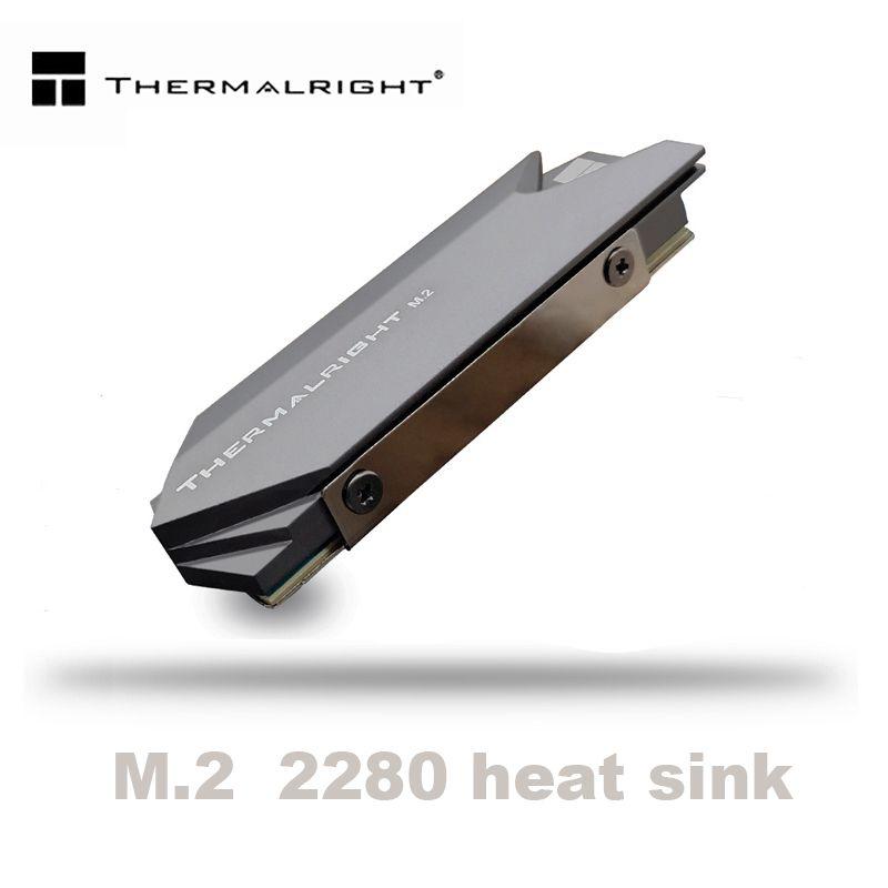 Thermalright dissipateur thermique aluminium M.2 refroidisseur de refroidissement dissipateur de chaleur tampons thermiques pour disque dur NGFF NVME PCIE 2280 SSD