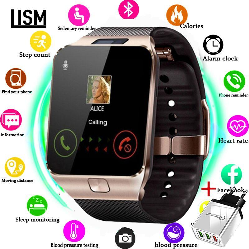 Montre intelligente hommes pour enfants Smartwatch femmes Android Bluetooth montre avec appel musique photographie SIM TF carte reloj inteligente