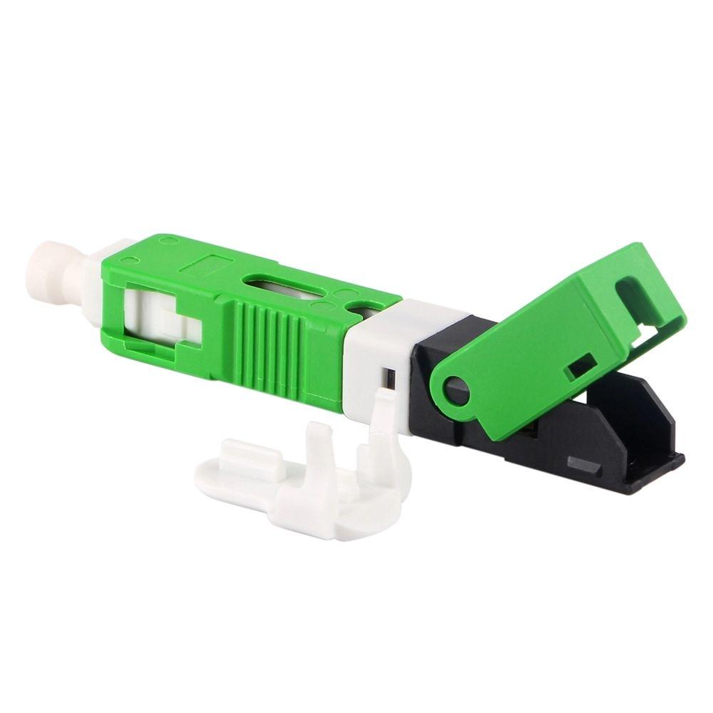 200 teile/paket FTTH ESC250D APC Single-mode Fiber Optic SC APC Schnell Feld Montage Stecker Für Drop Kabel