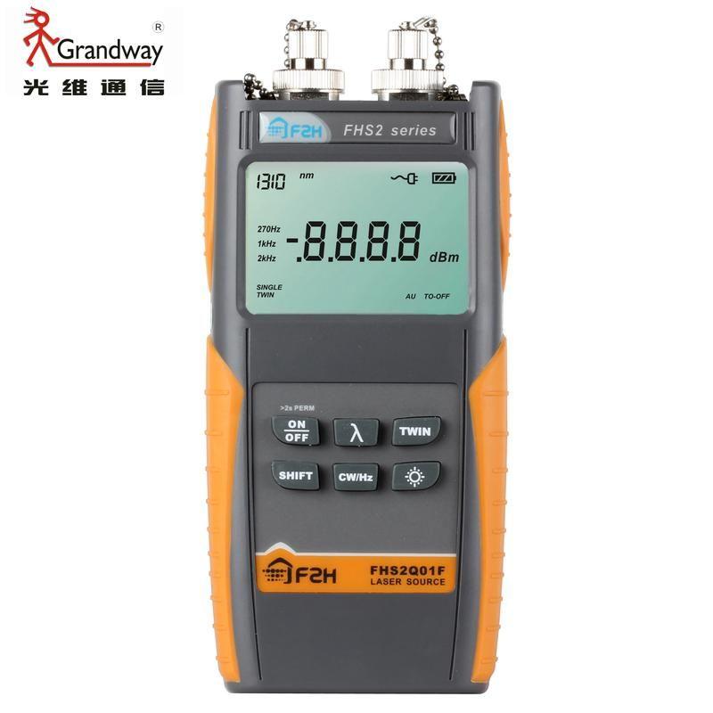 Grandway FHS2Q02F Optische Lichtquelle 1310/1490/1550/1625nm mit FC/PC stecker,-5dbm