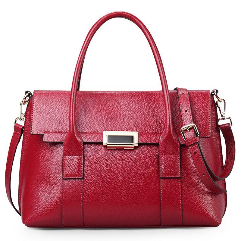 Sacs à main de luxe pour femmes sac fourre-tout noir à haut en cuir poignée Qiwang Designer Lady sacs à main de bureau 2019 grand/petit sac à main