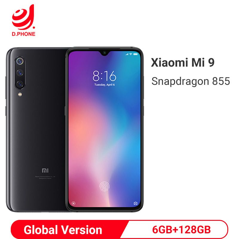 Globale Version Xiao mi mi 9 6GB 128GB mi 9 Snapdragon 855 Octa Core 6,39