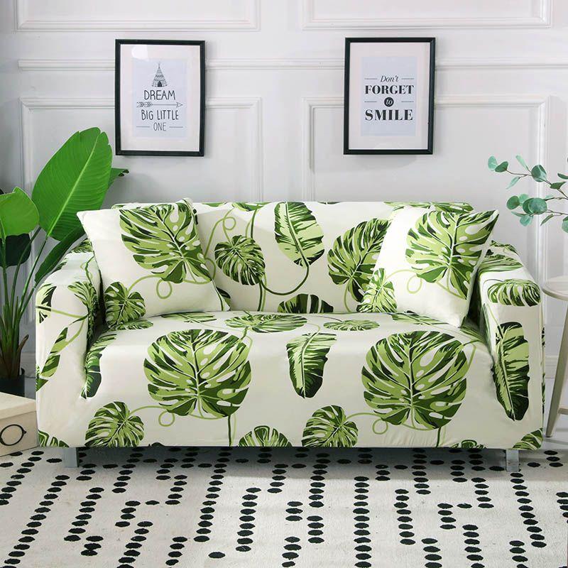 Housse de canapé élastique enveloppe serrée tout compris I en forme de housse de canapé housse de canapé pas cher Stretch meubles couvre 1/2/3/4 places 1PC